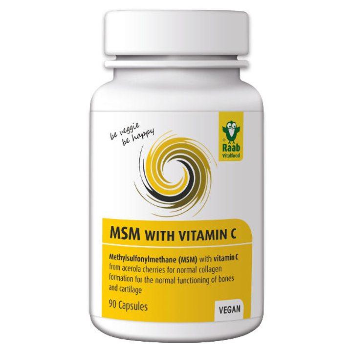 МСМ с Витамин C 90 капсули х 630мг