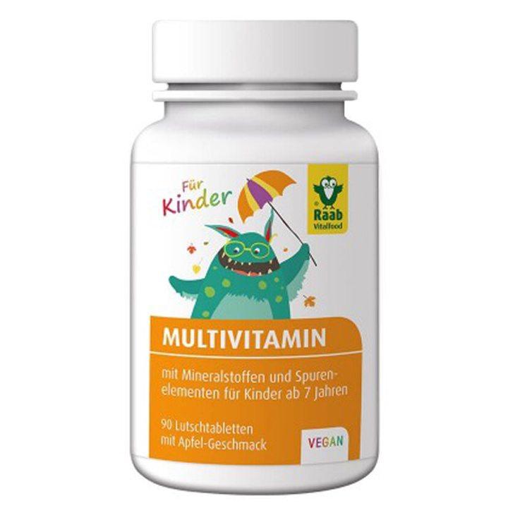 Мултивитамин за деца 90 таблетки за смучене х 1,2g