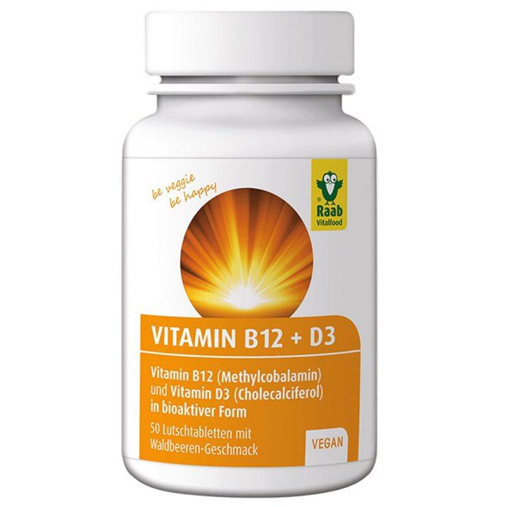 Витамин B12 + D3 60 таблетки х 1,5g