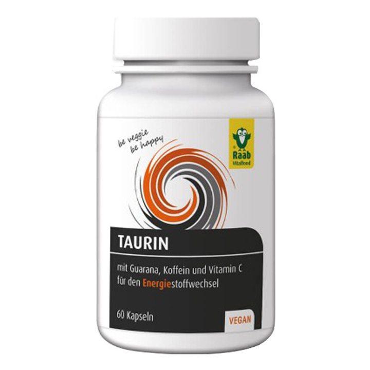 Таурин с гуарана и кофеин 60 капсули х 650mg