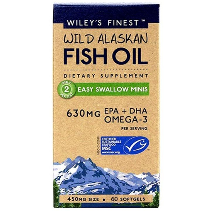 Рибено масло Омега 3 мини капсули 60 бр.