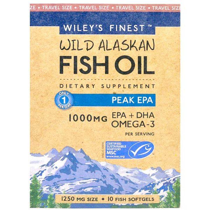 Рибено масло Омега 3 EPA 10 капсули