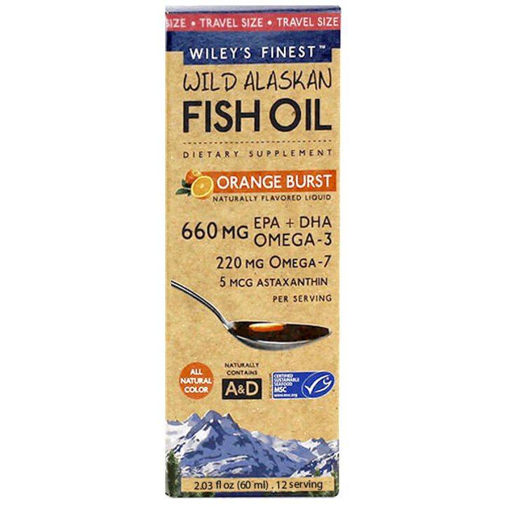 Рибено масло Омега 3-7-9 + Астаксантин 60мл