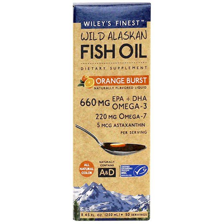 Рибено масло Омега 3-7-9 + Астаксантин 250мл