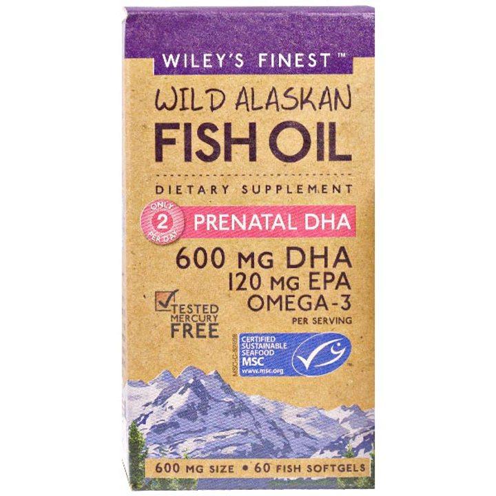 Рибено масло Омега 3 DHA за бременни 60 капсули