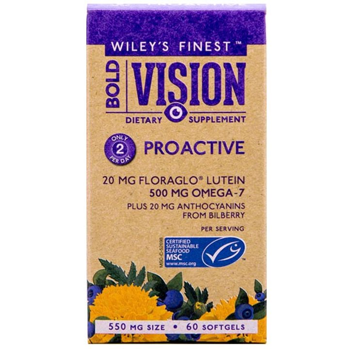 Рибено масло Омега 7 за добро зрение 60 капсули