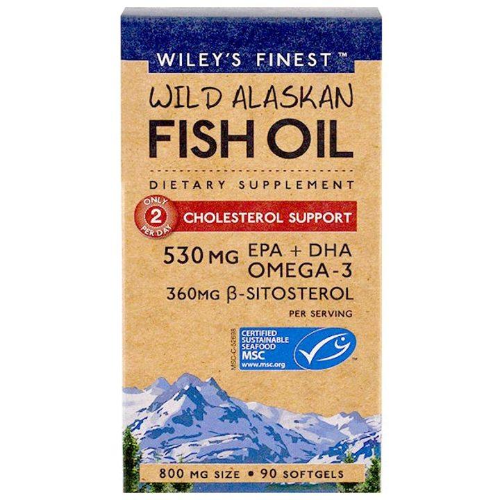Рибено масло Омега 3 за поддържане на холестерола 90 капсули