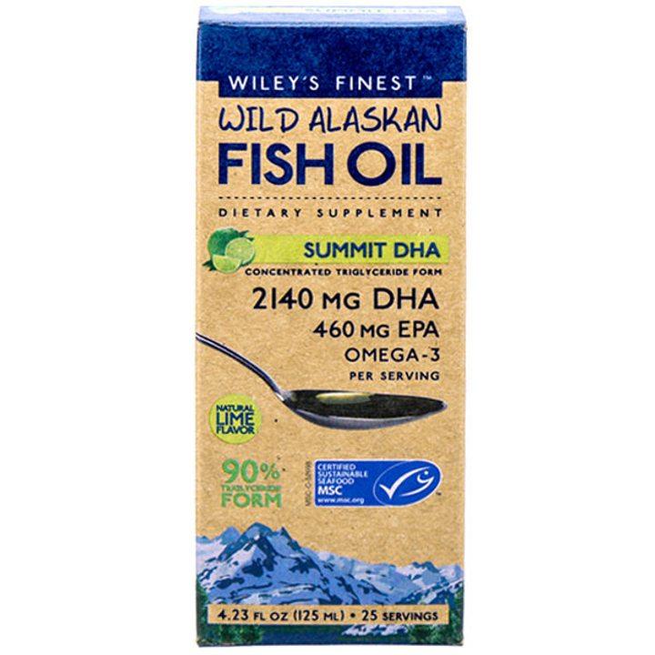Рибено масло Омега 3 с високо съдържание на DHA 125мл