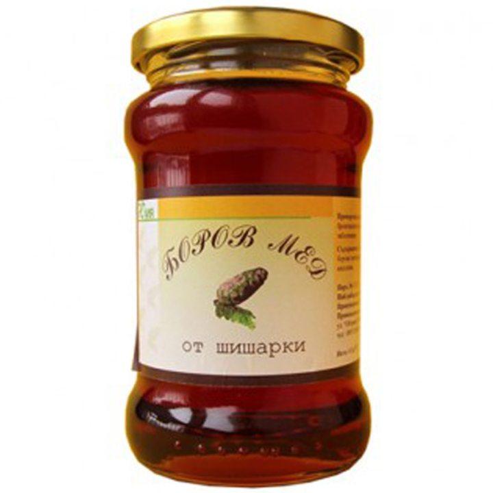 Боров мед от шишарки Юлия 450г