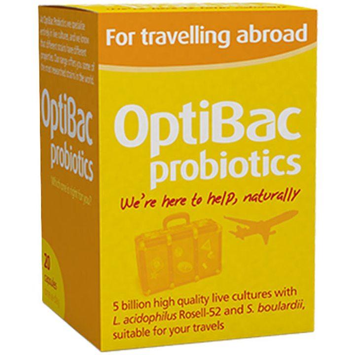 Пробиотик за пътуване в чужбина 20 капсули