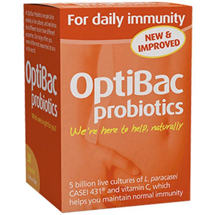 Пробиотик с Витамин C за ежедневен имунитет 30 капсули