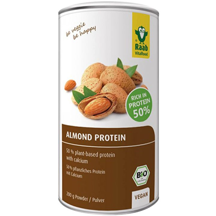 Био бадемов протеин на прах 200г