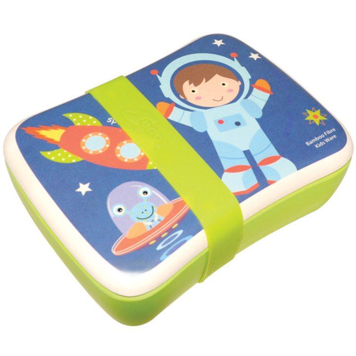 Еко кутия за храна от бамбук - Космонавт