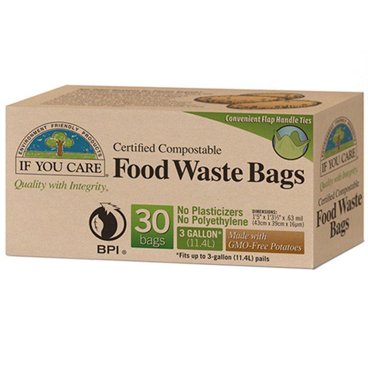 Биоразградими торби за хранителни отпадъци 30бр., 11,4л