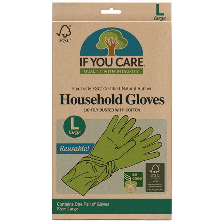 Домакинска ръкавица за многократна употреба, размер L