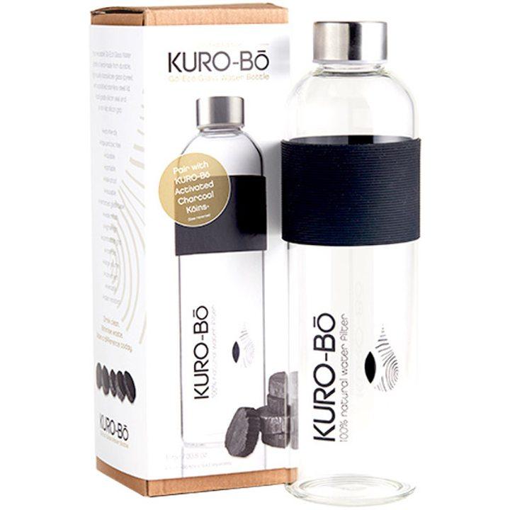 Стъклена бутилка за вода GO-ECO 1л