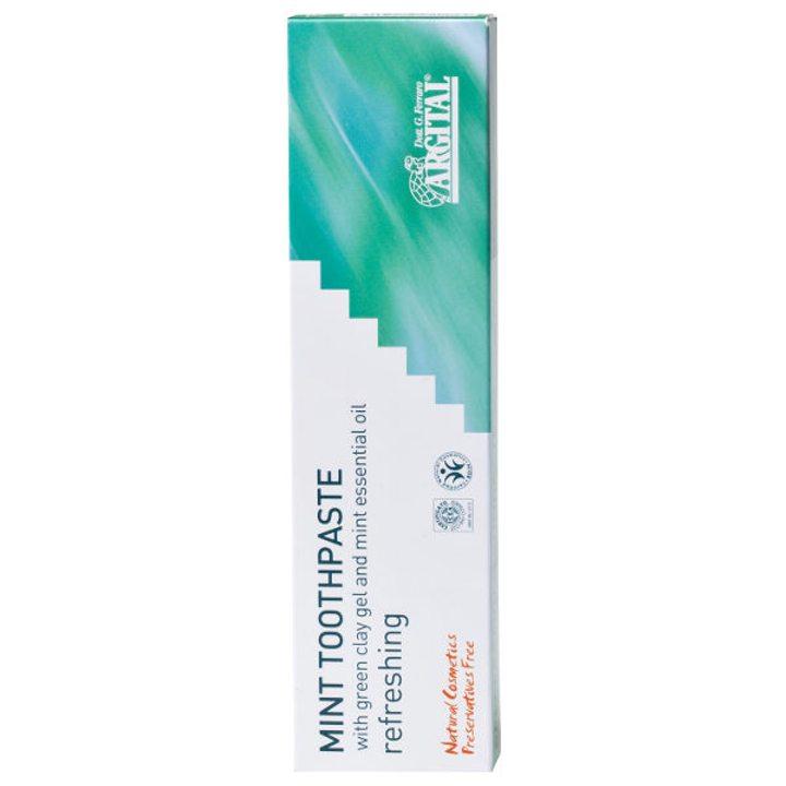 Органична паста за зъби мента 75мл