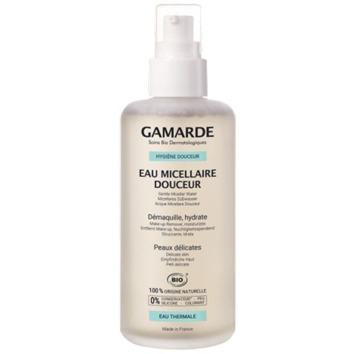 Органична деликатна мицеларна вода за почистване на лице и грим 200мл
