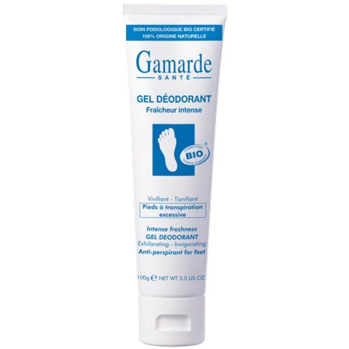 Органичен интензивен тонизиращ гел-дезодорант за крака 100г