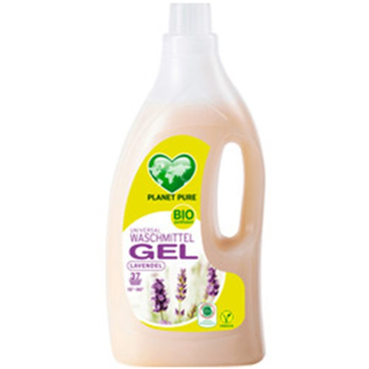 Органичен течен универсален гел за пране Лавандула 1,5л