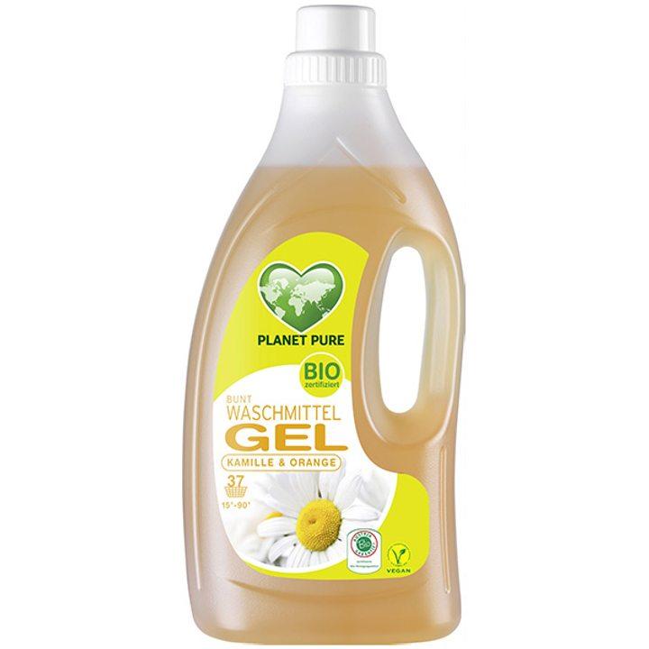 Органичен течен перилен препарат за цветно пране 1,5л