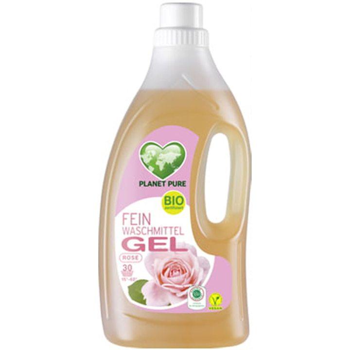 Органичен течен гел за пране на вълна и деликатни материали Роза 1,5л