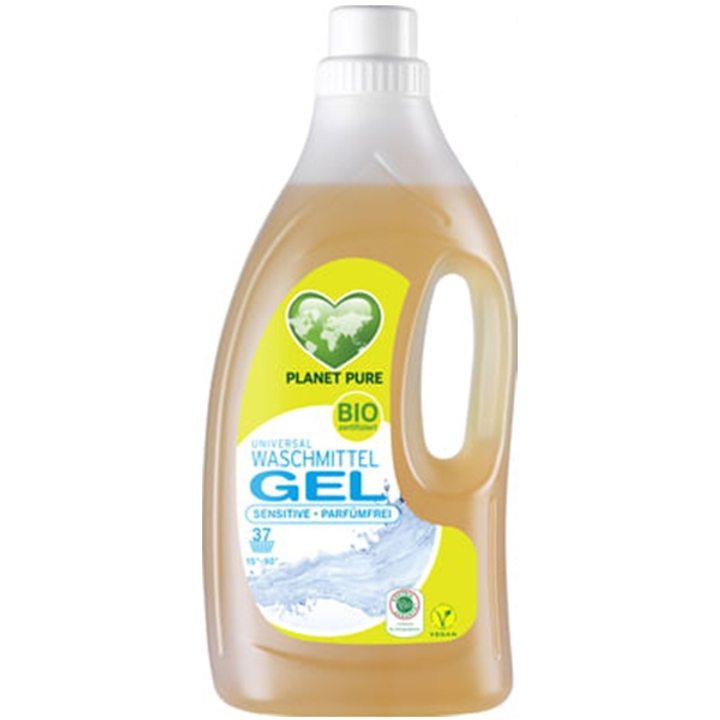 Органичен течен универсален гел за пране за чувствителна кожа без аромат 1,5л