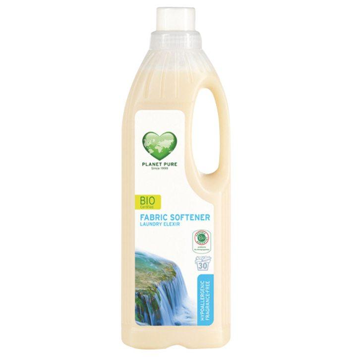 Органичен омекотител за дрехи - хипоалергичен, без аромат 1л
