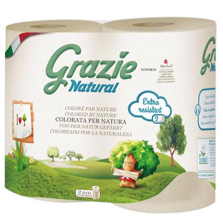 Кухненска хартия макси - 2 броя в пакет