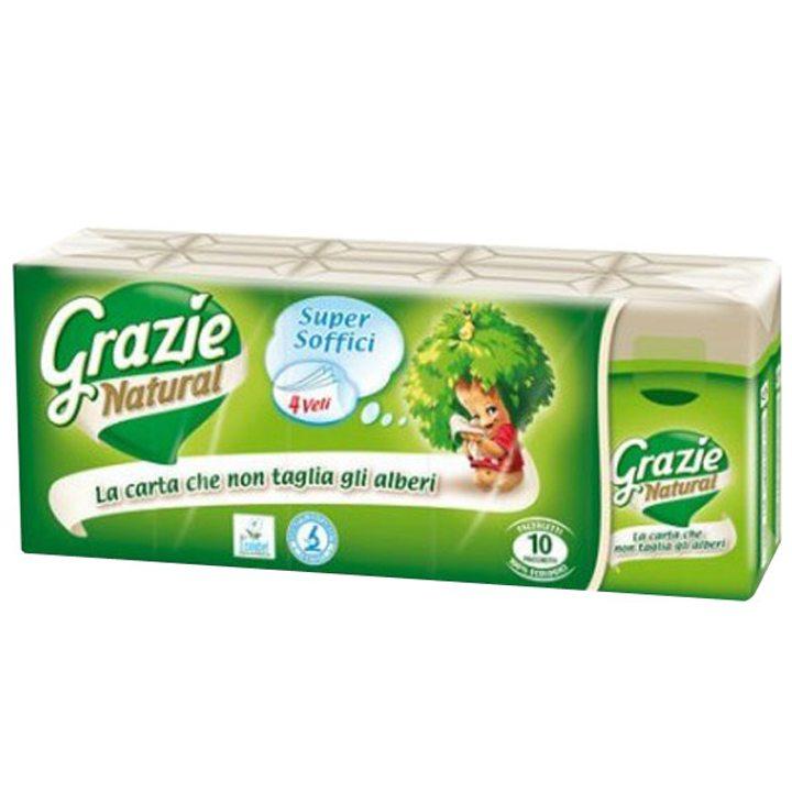 Носни кърпички Grazie - 10 броя в пакет