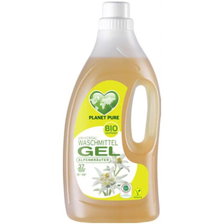 Органичен течен универсален гел за пране Планински билки 1,5л