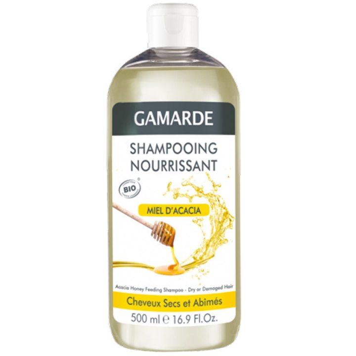 Органичен подхранващ шампоан с акациев мед 500мл