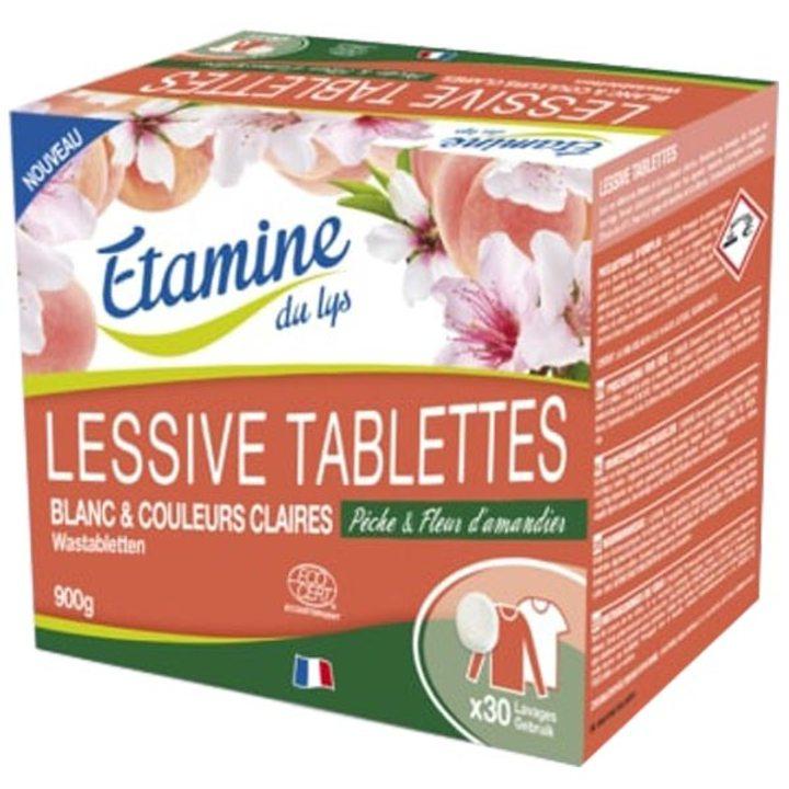 Прах на таблетки за бяло и цветно пране 900г
