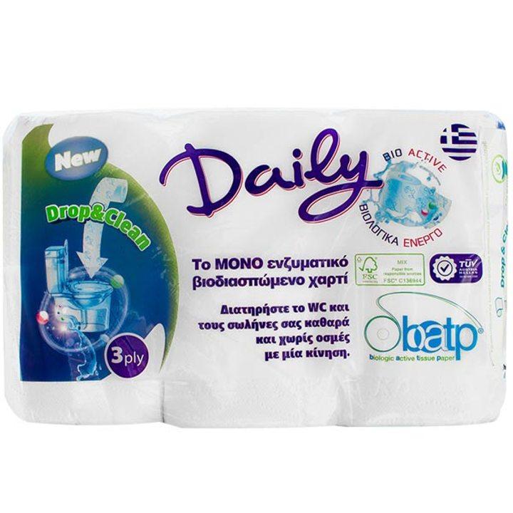 Биоактивна тоалетна хартия 12 ролки