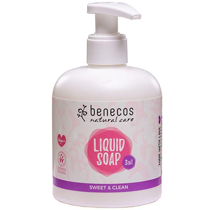 Натурален течен сапун 3 в 1 сладост 300мл