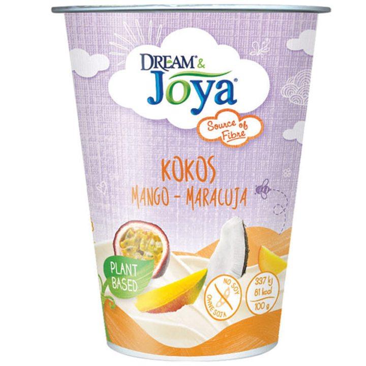 Кокосов десерт манго и маракуя 200г
