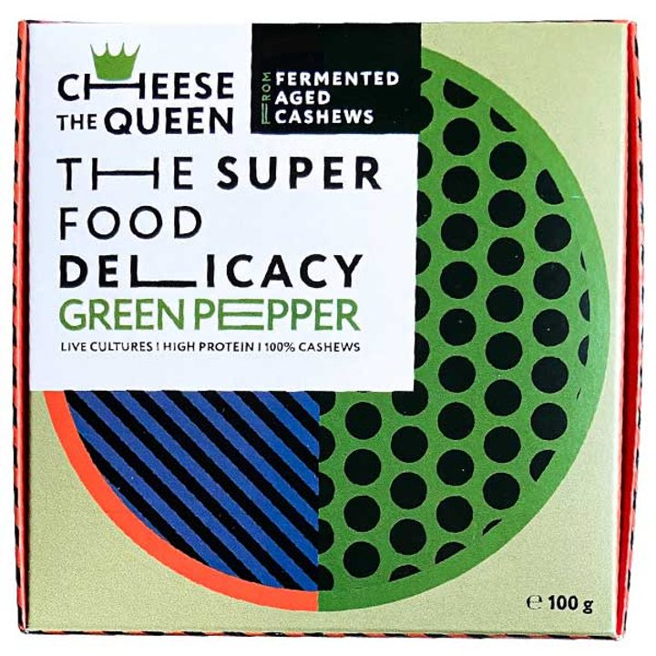 Био зрял деликатес от ферментирали ядки кашу зелен пипер 100г