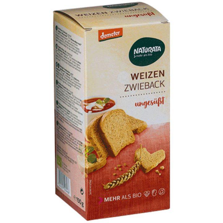 Деметер пшеничени сухари, неподсладени 150г