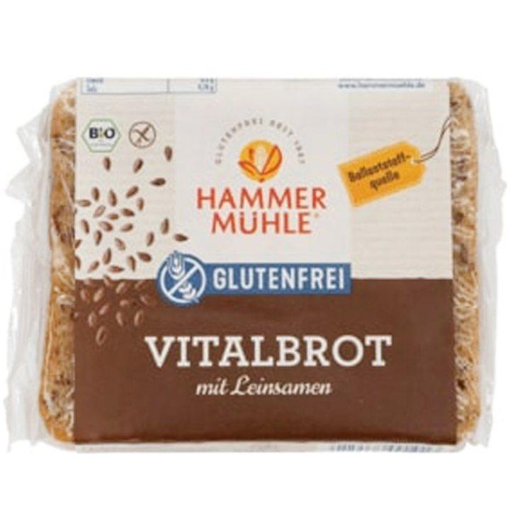 Био хляб с ленено семе без глутен 250г