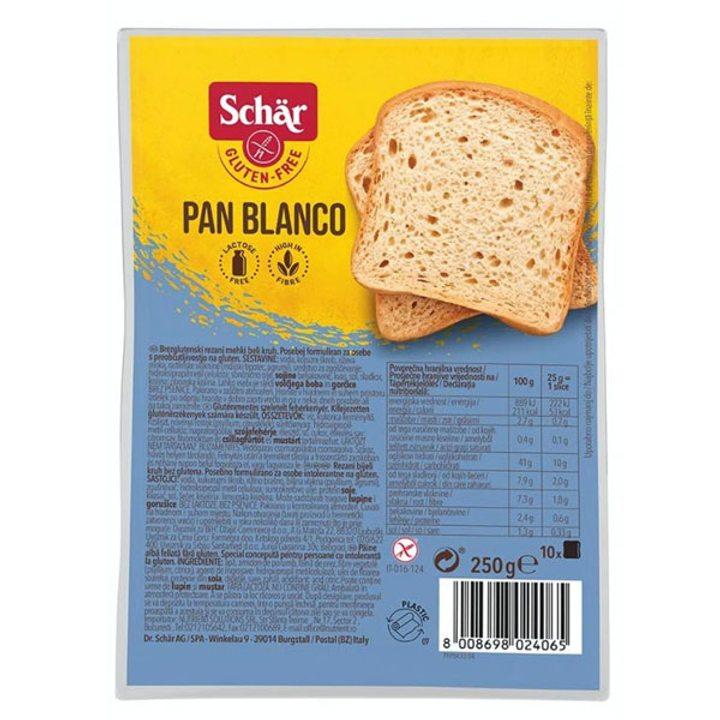 Безглутенов хляб Pan Blanco 250г