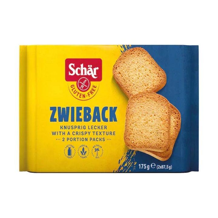 Безглутенови сухари Zwieback 175г