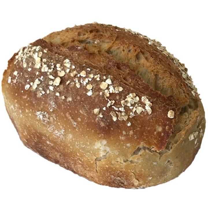 Квасен хляб от био пшеница и овес 550г